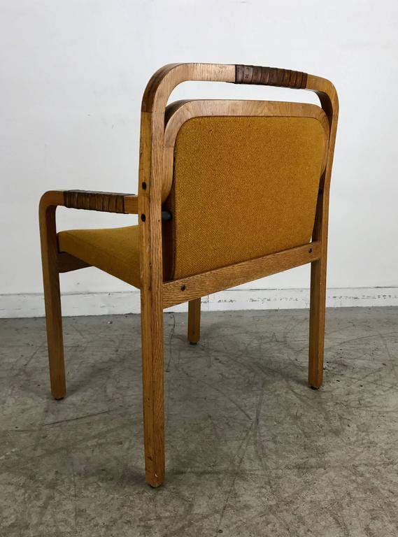 Unusual Modernist Arm Or Desk Chair Made By Gunlocke For Sale At 1stdibs