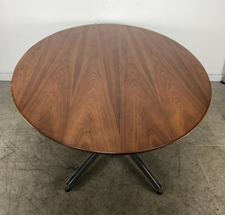 florence knoll oval conference or dining table  knoll
