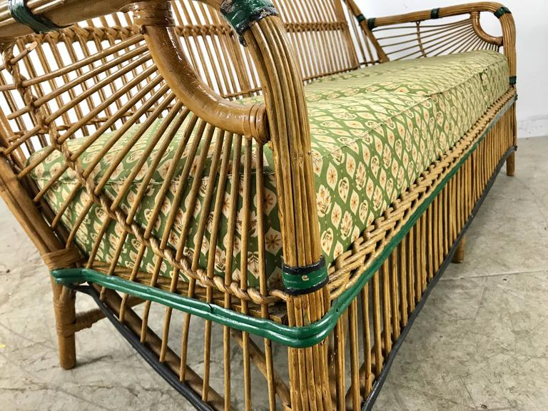 Vintage Bar Harbor Wicker Furniture