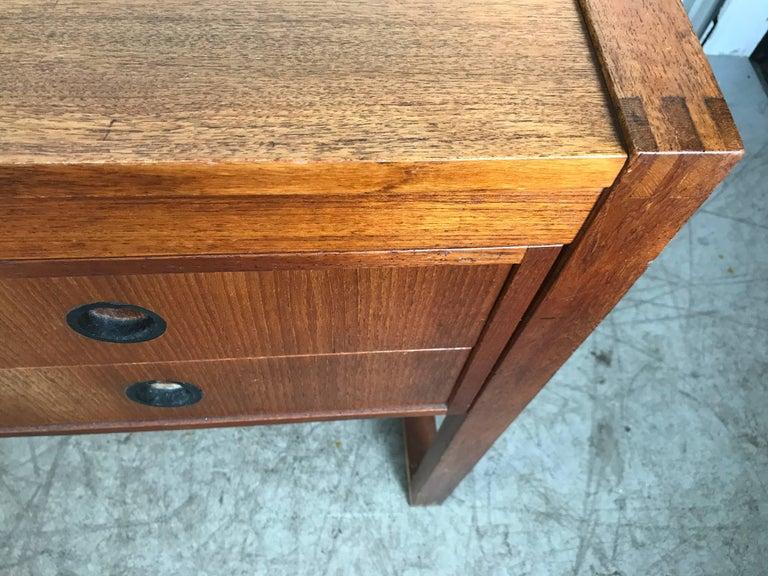 20th Century Danish Modern Teak Desk by Dansk, Denmark For Sale