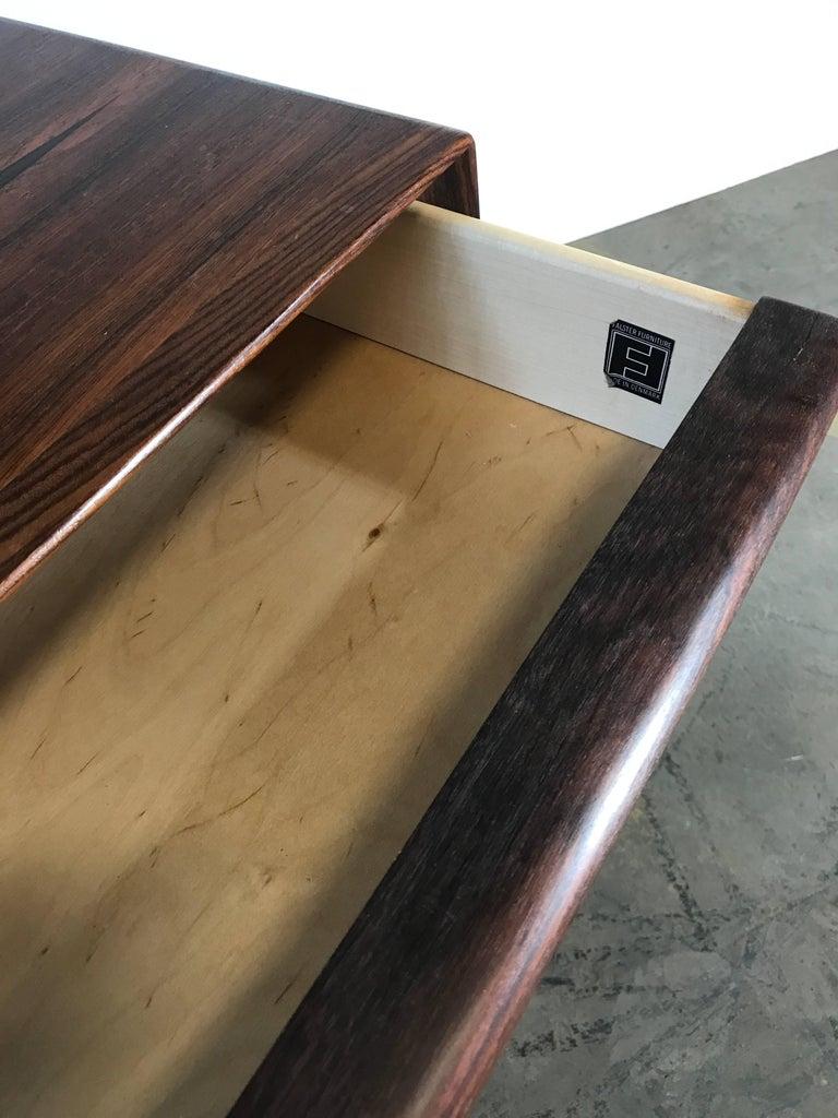 Stunning Rosewood Falster Four-Drawer Chest Dresser Made in Denmark For Sale 1
