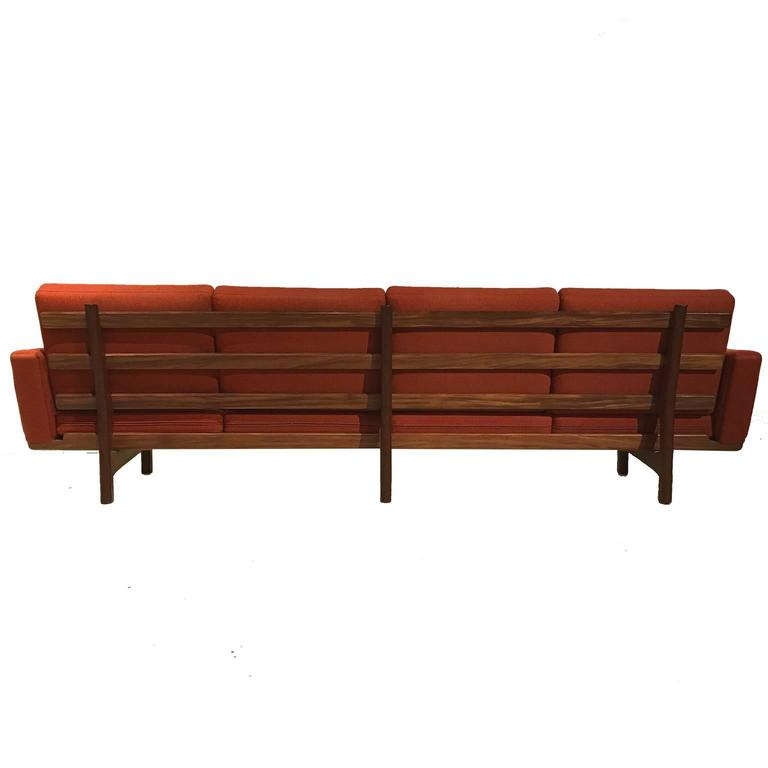 Hans Wegner Ge236/4 Sofa by GETAMA in Teak 3