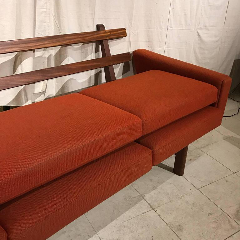 Hans Wegner Ge236/4 Sofa by GETAMA in Teak 4
