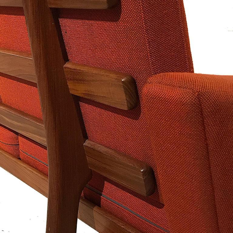 Hans Wegner Ge236/4 Sofa by GETAMA in Teak 2