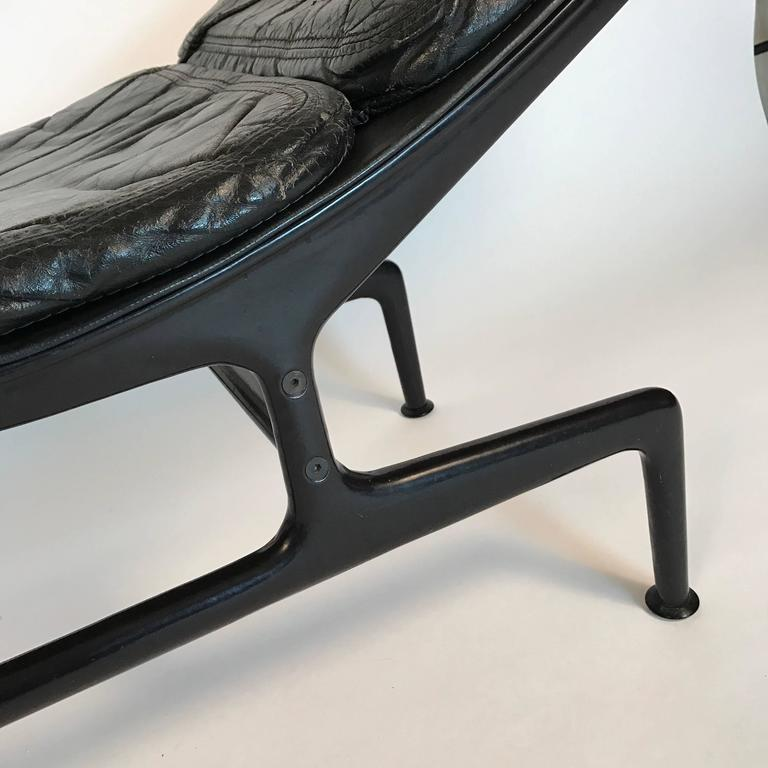 Charles eames for herman miller 39 39 billy wilder 39 39 leather for Chaise charles