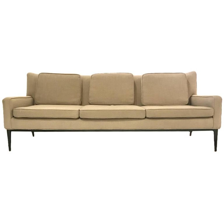Sleek Paul McCobb Sofa Model 1307 for Directional