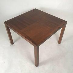 Lane Walnut Coffee Table with Contrasting Grain Walnut Top
