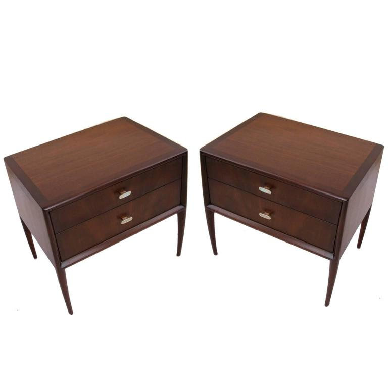bedroom set furniture sabota for stuart sculptural nightstands or 10628