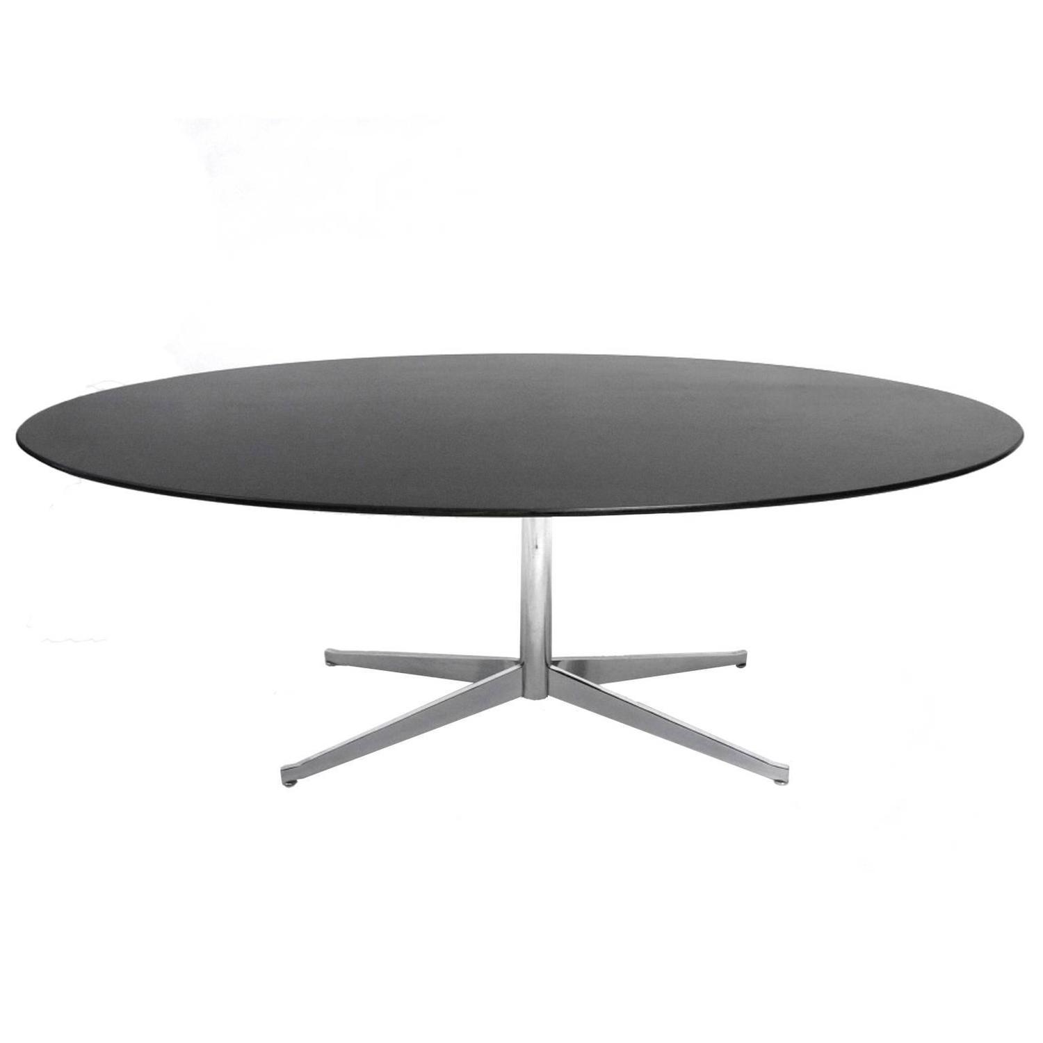 Conference Or Dining Table In The Manner Of Florence Knoll