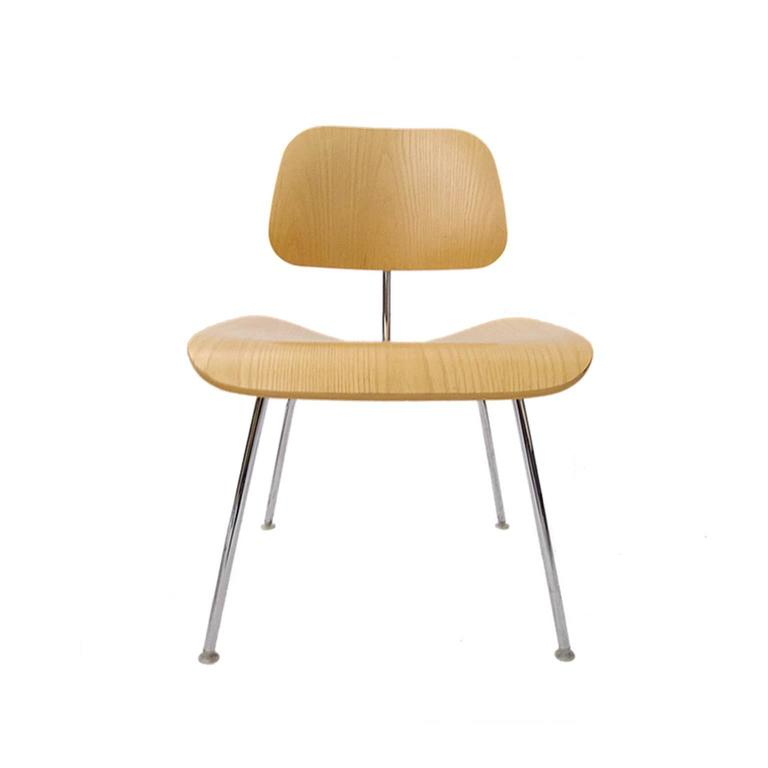 99 charles eames dcm bent plywood and steel chairs for herman miller