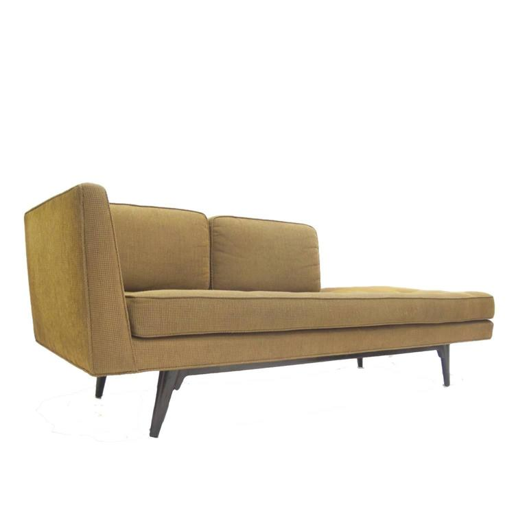 Edward wormley for dunbar 5525 chaise lounge for sale at for Chaise interiors inc
