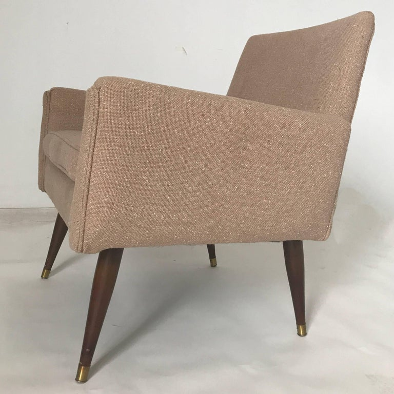 Mid-Century Modern Pair of Midcentury Structural Lounge Chairs in the Manner of Paul McCobb For Sale