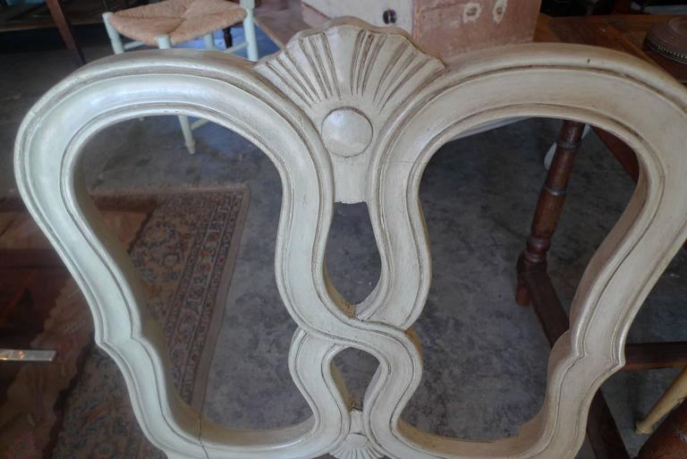 Reproduction Louis XVI Rush Seat, Dining-Chair with Large Seat 8