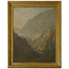 Italian 19th Century Oil on Canvas