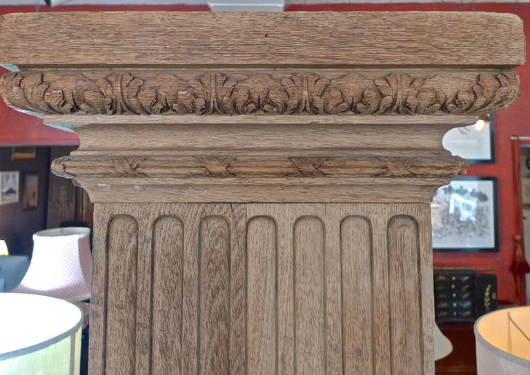 Two French 19th Century Hand Carved Walnut Panels For Sale 6