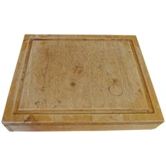 French 1960s Chopping Block with One Large Drawer