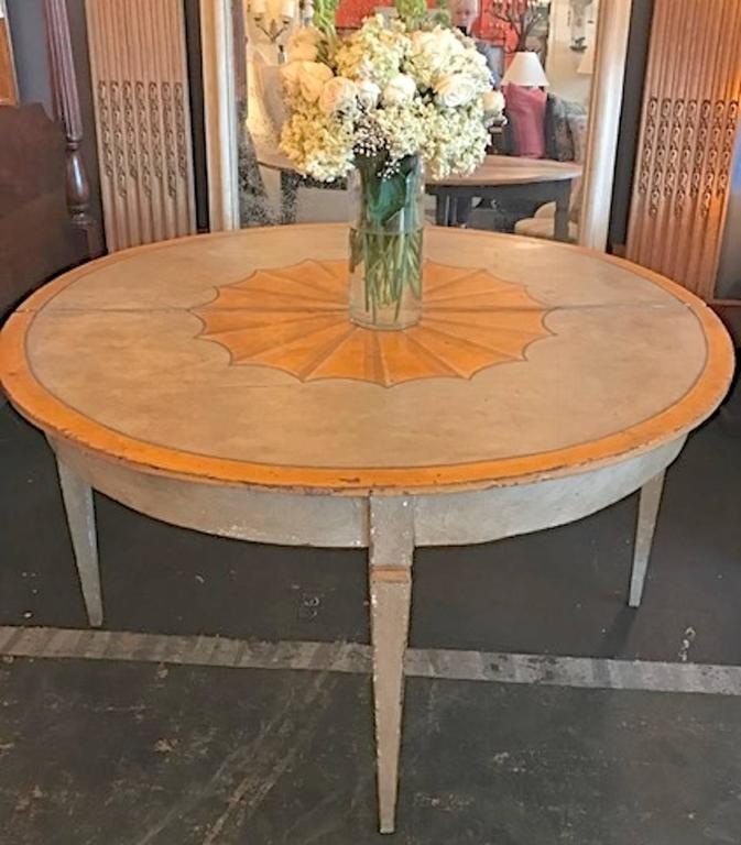 french 19th century round dining table for sale at 1stdibs
