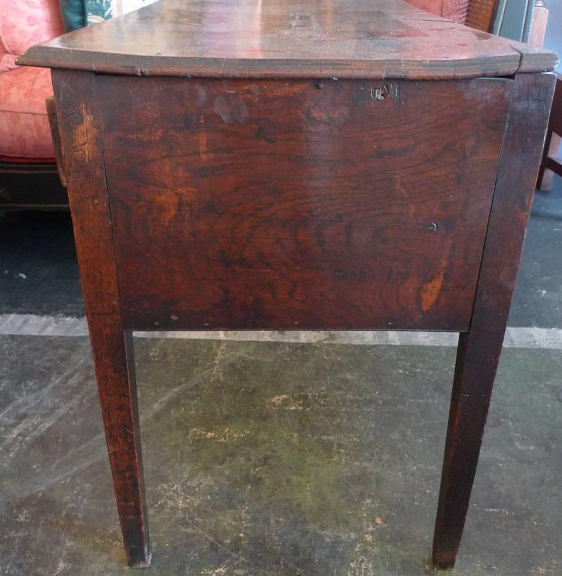 Amazing photo of French 19th Century Three Drawer Small Desk For Sale at 1stdibs with #844B47 color and 1111x1140 pixels