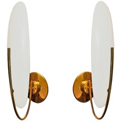 2 French 1950s Wall Sconces
