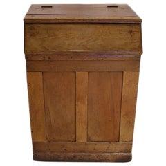French, 19th Century Coffee Storage Bin