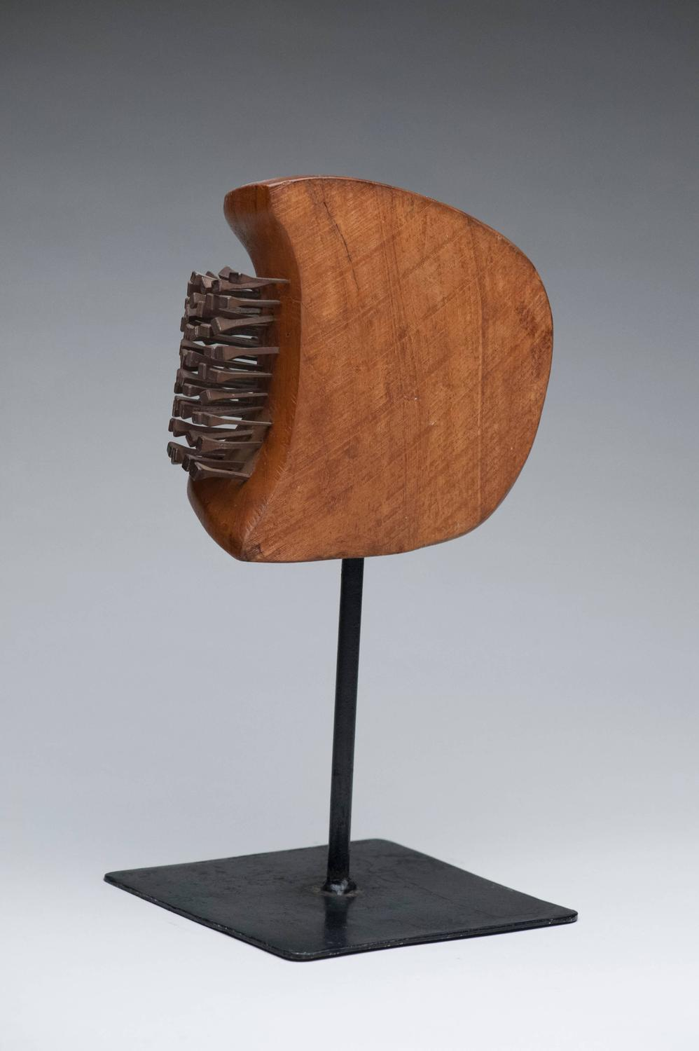 Wood And Nail Modern Abstract Sculpture For Sale At 1stdibs