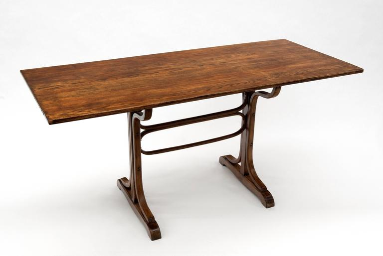 Fantastic antique table by Michael Thonet. Quality constructed and well  cared for table in solid - Antique Bentwood Thonet Table