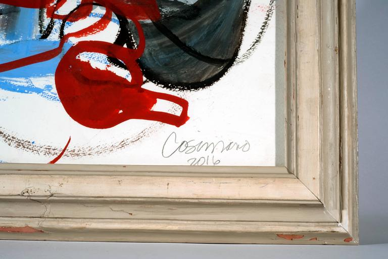 20th Century Jeanne Cosimano Abstract Modern Work on Paper For Sale