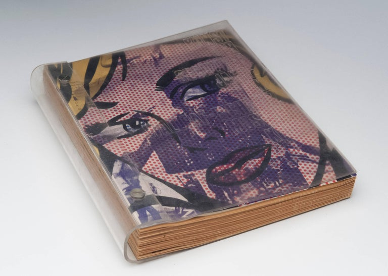 Kunst der Sechziger Jahre im Wallraf-Richartz Museum Koln, 1969.  Rare first edition. Text in German with essays and artists explanatory quotes in English. Printed on paper and acetate with embossed plastic cover and screw bound. Almost 300