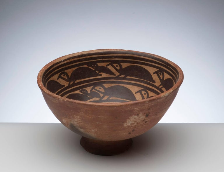 Pre-Columbian Narino Turtle Pottery Bowl In Excellent Condition For Sale In Washington, DC