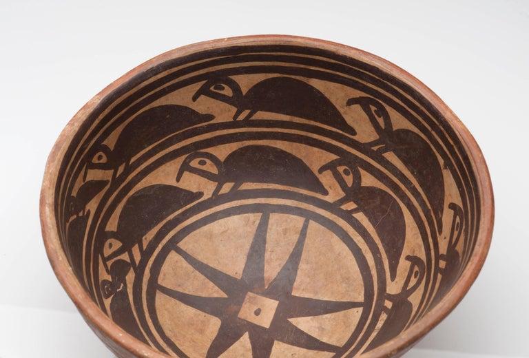 Pre-Columbian Narino Turtle Pottery Bowl For Sale 3