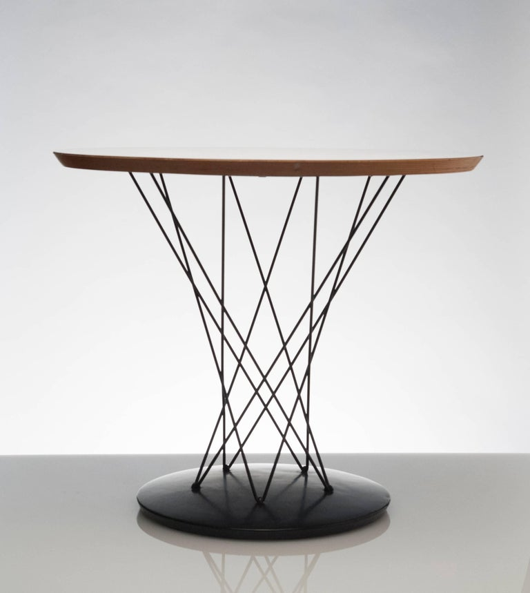 American Early Noguchi Cyclone Side Table for Knoll For Sale
