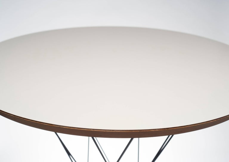 Steel Early Noguchi Cyclone Side Table for Knoll For Sale