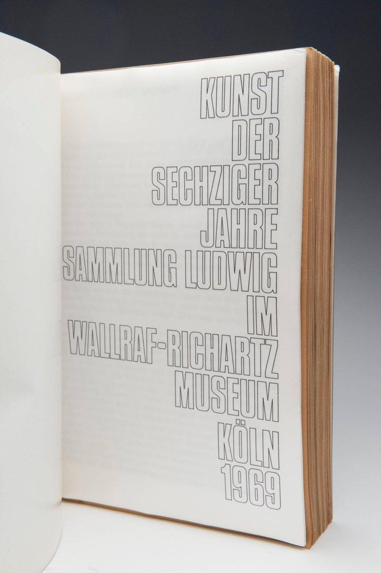 German Kinst Der Sechziger Jahre 'Art of the 1960s' Book For Sale