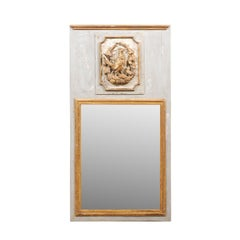 Wood Trumeau Mirrors