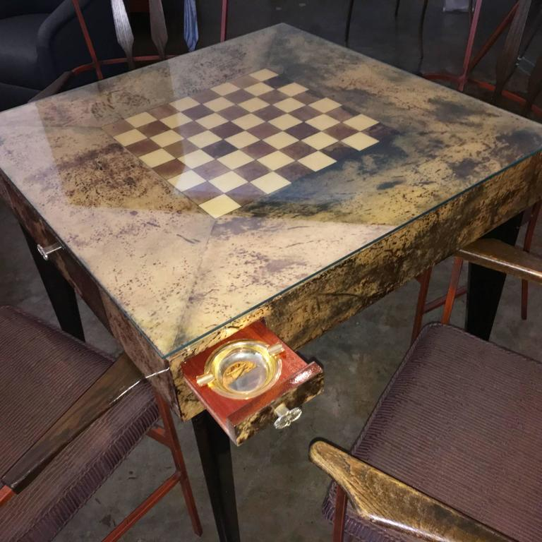 Marvelous Four In One Game Table #28 - That This Historic Piece Still Exists In This Immaculate Condition Is  Nothing Short Of A Miracle