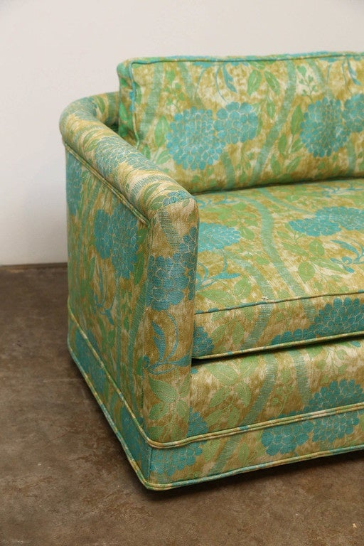 Set Of Two Erwin Lambeth Upholstered Sofas At 1stdibs
