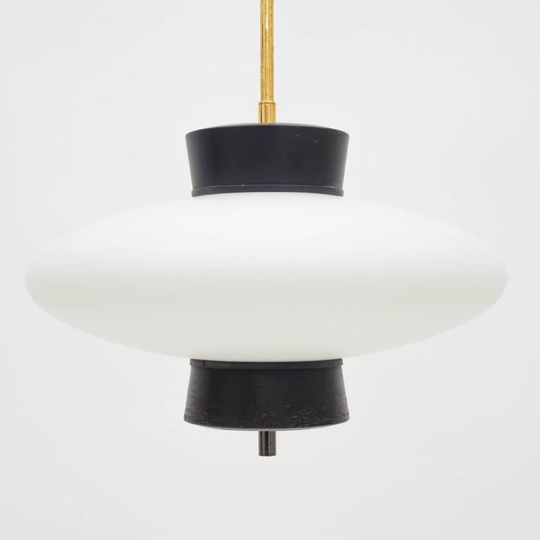 Mid-Century Modern French Modernist 'UFO' Pendant, 1950s For Sale