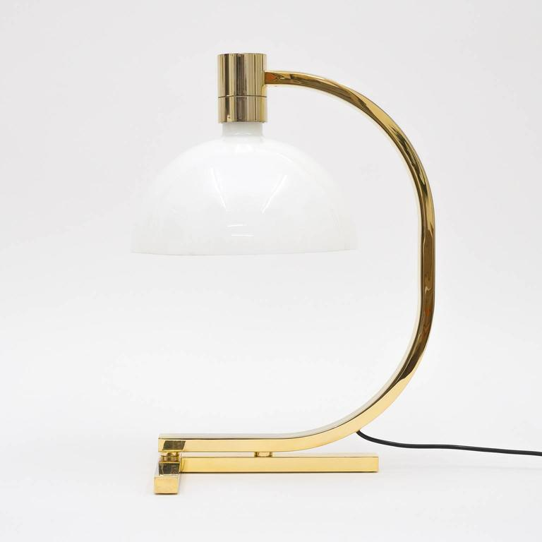 Gold-Plated AM/AS Table Lamp by Franco Albini, Antonio Piva and Franca Helg 6