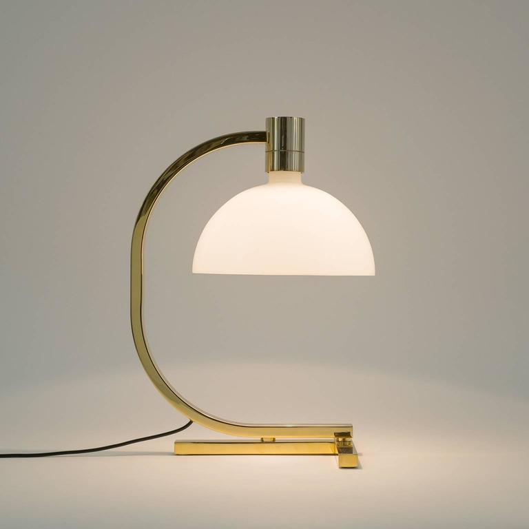 Gold-Plated AM/AS Table Lamp by Franco Albini, Antonio Piva and Franca Helg 8