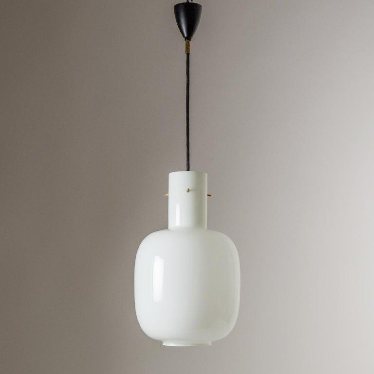Italian Glas Pendant, 1950s For Sale 4