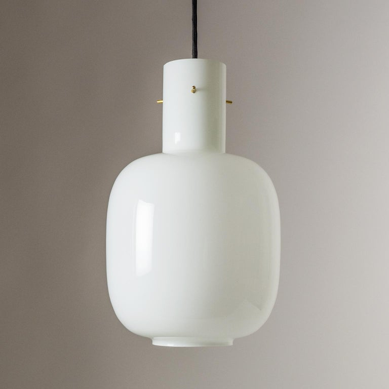 Mid-Century Modern Italian Glas Pendant, 1950s For Sale
