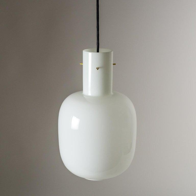Italian Glas Pendant, 1950s For Sale 5