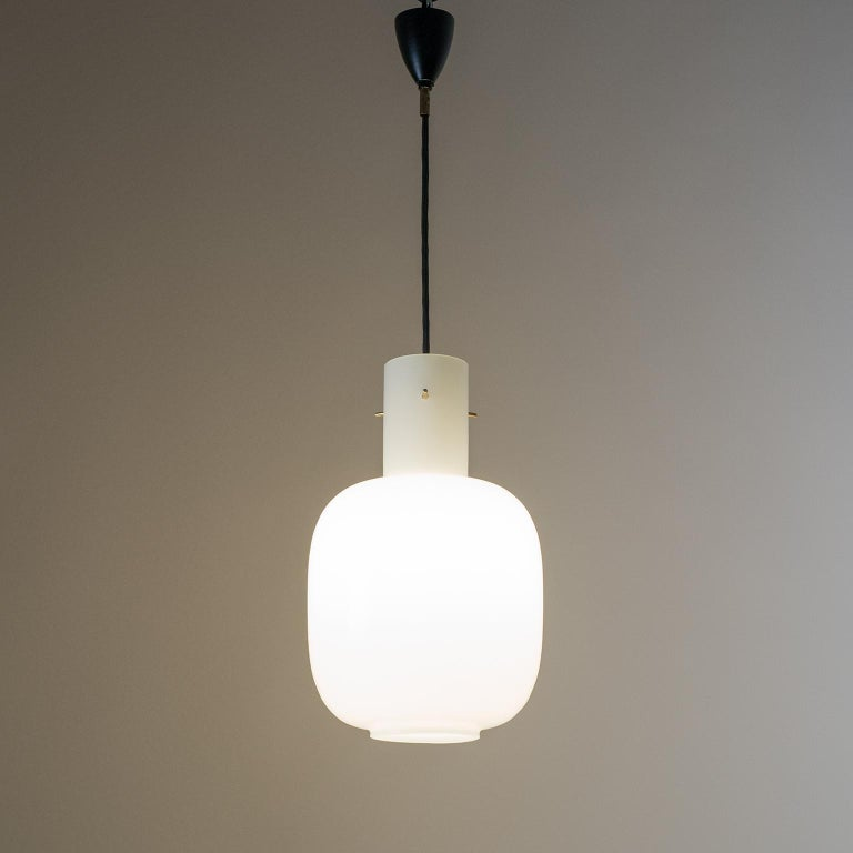 Italian Glas Pendant, 1950s In Good Condition For Sale In Vienna, AT