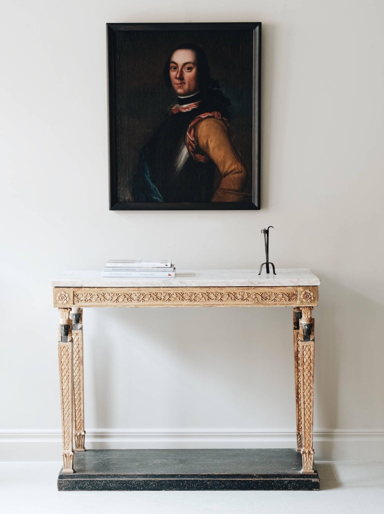 19th Century Late Gustavian Console Table 2