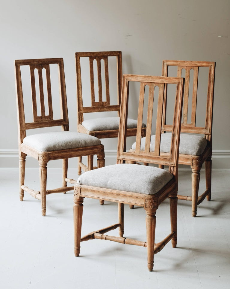 Swedish 19th Century Gustavian Chairs  For Sale