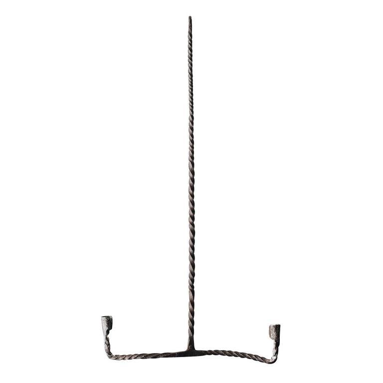 18th Century Swedish Wrought Iron Chandelier 1