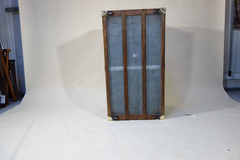 1889 Louis Vuitton Steamer Damier Trunk, Special Year 10