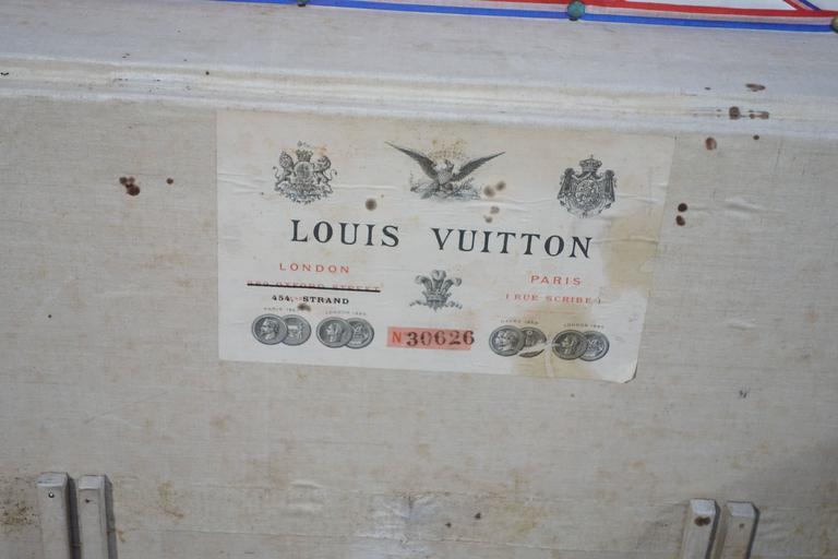 1889 Louis Vuitton Steamer Damier Trunk, Special Year 7
