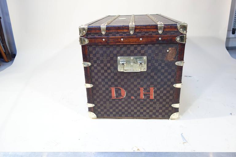 1889 Louis Vuitton Steamer Damier Trunk, Special Year 6