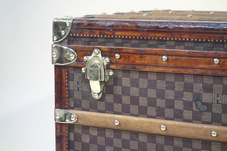 1889 Louis Vuitton Steamer Damier Trunk, Special Year 2